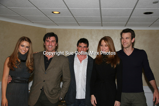 Chrishell Stause - Vincent Irizarry - Bill Freda - Jamie Luner - Adam Mayfield at a benefit for American Lung Association on December 6, 2009 at Mezza on the Green at the Lawrence Country Club. (Photos by Sue Coflin/Max Photos)