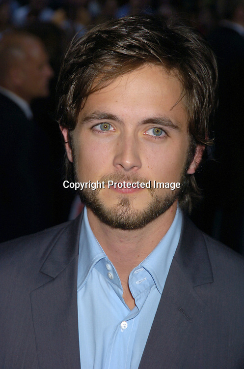 "Justin Chatwin ..at the US Premiere of ""War of the World"" on June 23 ..."