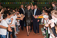 Queen Mathilde of Belgium celebrates 25th anniversary of the Convention on the Rights of the child i