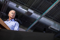 Vice President Joe Biden speaks at a rally at Grinnell College during a two-day campaign swing through Iowa on Tuesday, September 18, 2012 in Grinnell, IA.