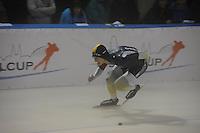 SCHAATSEN: DEVENTER: IJsstadion De Scheg, 12-10-2013, Nationale schaatswedstrijd de IJsselcup, Daniel Greig (AUS), ©foto Martin de Jong