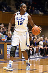 02 January 2014: Duke's Chelsea Gray. The Duke University Blue Devils played the Old Dominion University Lady Monarchs in an NCAA Division I women's basketball game at Cameron Indoor Stadium in Durham, North Carolina. Duke won the game 87-63.
