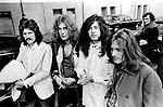 Led Zeppelin 1970 John Bonham, Robert Plant, Jimmy page and John Paul Jones.© Chris Walter.