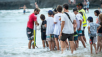 Snapper Rocks, Coolangatta Queensland Australia (Sunday, March 13 2016): Josh Kerr (AUS) -Round Two of the first WCT event of the year, the Quiksilver Pro Gold Coast, was called on this morning with a number of top seeds hitting the water. In a day up upsets the Tour Rookies took out a good proportion of the heats with Stu Kennedy(AUS) defeating Kelly Slater (USA), Conner Coffin (USA) knowing out Kai Otton and Ryan Callinan  (AUS) eliminating Jordy Smith (ZAF) The event was put on hold for over 4 hours while organisers waited for conditions to improve. The surf was in the 3'-4' range most of the day.Photo: joliphotos.com