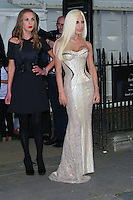 Donatella Versace and Daughter at The 2012 Glamour Women of the Year Awards on 29 May 2012 Berkeley Square Gardens, London