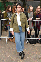 Pixie Geldof arrives for the Topshop Unique AW17 show as part of London Fashion Week AW17 at Tate Modern, London, UK. <br /> 19 February  2017<br /> Picture: Steve Vas/Featureflash/SilverHub 0208 004 5359 sales@silverhubmedia.com