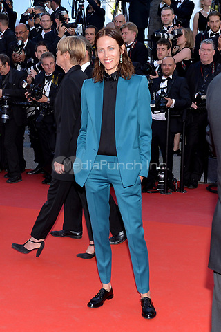 Aymeline Valade at the Opening Movie &acute;Les Fantomes d Ismael`  screening during The 70th Annual Cannes Film Festival on May 17, 2017 in Cannes, France.<br /> CAP/LAF<br /> &copy;Lafitte/Capital Pictures /MediaPunch ***NORTH AND SOUTH AMERICAS, CANADA and MEXICO ONLY***