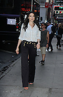 NEW YORK, NY-June 20: Laura Prepon at Good Morning America  to talk about season 4 of NETFLIX's Orange Is The New Black in New York. NY June 20, 2016. Credit:RW/MediaPunch