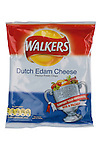 Packet of Walkers World Cup Dutch Edam Cheese Flavour Crisps - May 2010