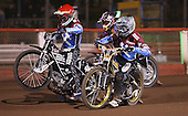 Kim Nilsson, Lee Richardson and Shane Hazelden during the Silver Hammer competition - Lakeside Hammers Open Evening at the Arena Essex Raceway, Pufleet - 23/03/12 - MANDATORY CREDIT: Rob Newell/TGSPHOTO - Self billing applies where appropriate - 0845 094 6026 - contact@tgsphoto.co.uk - NO UNPAID USE..