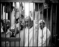 Ahmadabad, India, March 2002..Hindu - Muslem riots, fueled by a Hindu extremist organization (VHP), have left more than 800 people dead in the state of Gujarat, mainly Muslems. The State controlled police did nothing to protect armless civilians from well organized Hindu mobs. Thousands have lost their homes or businesses causing widespread economic hardship among the Muslem minority.