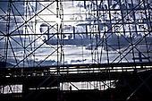 Warsaw 16/04/2010 Poland<br /> People mourning the tragic death of President Lech Kaczynski and his wife.<br /> on pictures: Preparation for a commemoration ceremony at the Pilsudzki Square in Warsaw for the victims of the plane crash in Smolensk<br /> Photo: Adam Lach / Napo Images for The New York Times<br /> <br /> Zaloba po tragicznej smierci Prezydenta Lecha Kaczynskiego i jego malzonki.<br /> na zdjeciu: przygotowania do mszy zalobnej na Placu Pilsudzkiego w Warszawie.<br /> Fot: Adam Lach / Napo Images for The New York Times