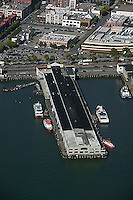 aerial photograph Pier 9 San Francisco, California