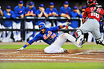 5 March 2012: New York Mets outfielder Andres Torres slides home safely in the first inning of a Spring Training game against the Washington Nationals at Digital Domain Park in Port St. Lucie, Florida. The Nationals defeated the Mets 3-1 in Grapefruit League play. Mandatory Credit: Ed Wolfstein Photo
