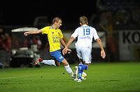 VOETBAL: LEEUWARDEN: Cambuur Stadion, 14-09-12, Cambuur - Almere City, Oebele Schokker (#14), ©foto Martin de Jong