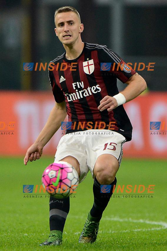 Rodrigo Ely Milan<br /> Milano 4-10-2015 Stadio Giuseppe Meazza - Football Calcio Serie A Milan - Napoli. Foto Giuseppe Celeste / Insidefoto