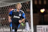 Steven Lenhrt. The Chicago Fire defeated the San Jose Earthquakes after going 5-4 on penalty kicks, after a 2-2 score in regulation during the US Open Cup at Buck Shaw Stadium in Santa Clara, California on May 24th, 2011.