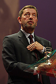 DAVID BLUNKETT.LABOUR PARTY CONFERENCE, GLASGOW. 15.02.03
