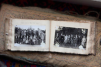 An old photo album records a shooting party in 1919