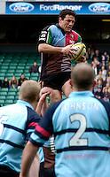 2006, Powergen National Trophy, Andre Voss, Twickenham, NEC Harlequins vs Bedford Blues, ENGLAND, 09.04.2006, 2006, , © Peter Spurrier/Intersport-images.com.   [Mandatory Credit, Peter Spurier/ Intersport Images].