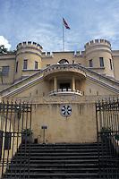 The Bellavista Fortress, which now houses the Museo Nacional de Costa Rica in the city of San Jose, Costa Rica.