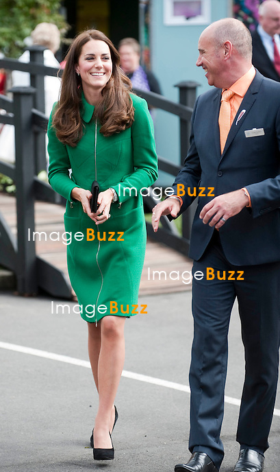 KATE, DUCHESS OF CAMBRIDGE AND PRINCE WILLIAM<br /> visit Rainbow Place Children's Hospice, Hamilton, New Zealand_11/04/2014