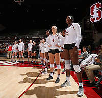 Stanford Volleyball W vs Colorado, October 7, 2016