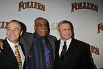 Opening Night - Danny Brustein and Frederick Strother and Ron Raines star in Follies, a James Goldman & Stephen Sondheim's classic musical on September 12, 2011 at the Marquis Theatre, New York City, New York. (Photo by Sue Coflin/Max Photos
