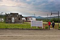Slate creek inn, at the Coldfoot camp truck stop along the James Dalton Highway, arctic, Alaska.