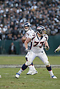 CHRIS KUPER, of the Denver Broncos  in action during the Broncos game against the Oakland Raiders on December 2, 2007 in Oakland, California...RAIDERS  win 34-20..SportPics