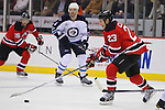 January 17, 2012: Winnipeg Jets at New Jersey Devils