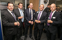 Pictured from left are David Findlay of JLL, Andrew Botham of Botham Accounting, James Hall of Geo Hallam, Simon Hodgkin of Streets Chartered Accountants and Andy Matthews of Gateley