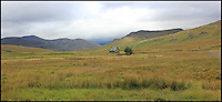 BNPS.co.uk (01202 558833)<br /> Pic: GeoffAllan/BNPS<br /> <br /> Located at Luib Chonnal in the Central Highlands this small bothy offers a refuge to couples.<br /> <br /> Views with rooms. - New book reveals the remote 'bothies' that lie hidden in some of Britain's most spectacular locations.<br /> <br /> Nestled away in the beautiful remote wilderness of Scotland are a network of secluded mountain huts - known as bothies - where walkers can stay the night before heading to pastures new.<br /> <br /> What is so special about these quaint outposts in some of the most idyllic and untouched landscapes north of the border is that they are completely free to use.<br /> <br /> As a result, the location of many bothies has been a closely guarded secret with visitor centres reluctant to advertise their whereabouts for fear they become overcrowded.<br /> <br /> But in his new book, The Scottish Bothy Bible, author and photographer Geoff Allan has listed more than 80 of them in a bid to make them known to a wider audience.