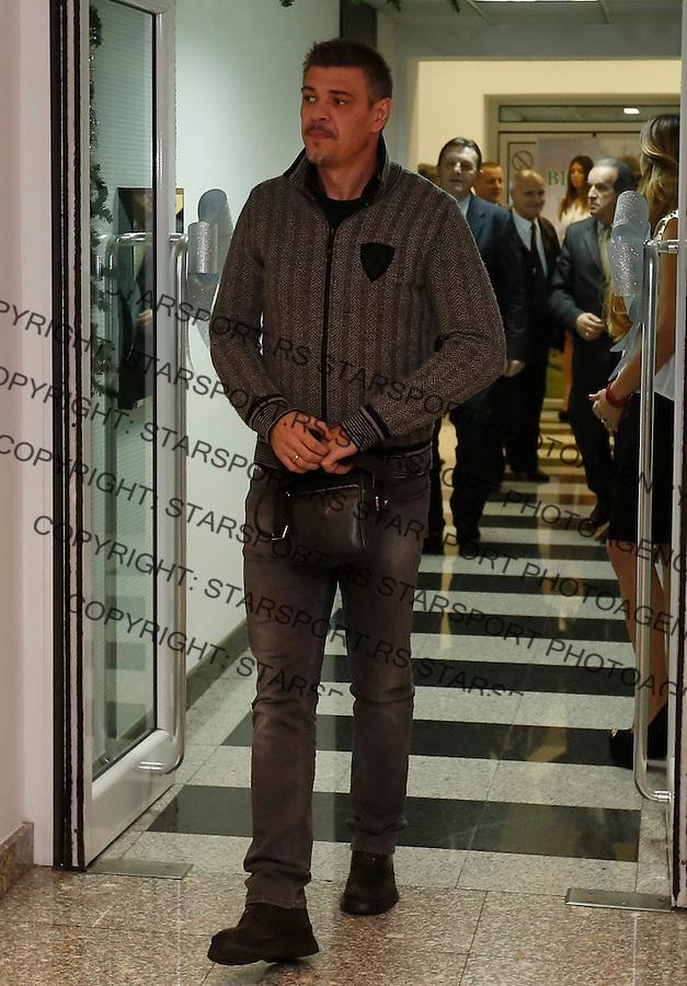 Fudbal Super liga season 2013-2014<br /> FK Partizan novogodisnji koktel<br /> Savo Milosevic<br /> Beograd, 17.12.2013.<br /> foto: Srdjan Stevanovic/Starsportphoto &copy;