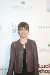 Sami Gayle Attends Lucky Magazine's Ninth Annual LUCKY SHOPS Event Hosted by Grammy® Award-Winning Recording Artist, Jennifer Hudson At 82 Mercer, NY   12/6/12