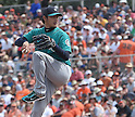 Seattle Mariners spring training game vs San Francisco Giants