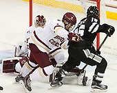 Michael Kim (BC - 4), Josh Wilkins (PC - 15) - The Boston College Eagles defeated the visiting Providence College Friars 3-1 on Friday, October 28, 2016, at Kelley Rink in Conte Forum in Chestnut Hill, Massachusetts.The Boston College Eagles defeated the visiting Providence College Friars 3-1 on Friday, October 28, 2016, at Kelley Rink in Conte Forum in Chestnut Hill, Massachusetts.
