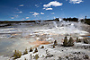 Porcelain Basin Loop in Norris Geyser Basin, Yellowstone National Park, Wyoming