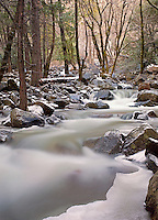 Bridalveil Creek in Winter