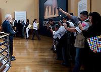 Alejandro Luna retrospective in Bellas Artes, Mexico City.