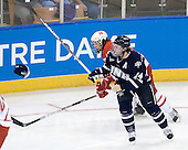 Curtis McKenzie (Miami - 16), Matt Campanale (UNH - 24) - The University of New Hampshire Wildcats defeated the Miami University RedHawks 3-1 (EN) in their NCAA Northeast Regional Semi-Final on Saturday, March 26, 2011, at Verizon Wireless Arena in Manchester, New Hampshire.