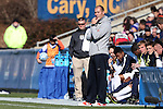 14 December 2014: Virginia head coach George Gelnovatch. The University of Virginia Cavaliers played the University of California Los Angeles Bruins at WakeMed Stadium in Cary, North Carolina in the 2014 NCAA Division I Men's College Cup championship match. Virginia won the championship by winning the penalty kick shootout 4-2 after the game ended in a 0-0 tie after overtime.