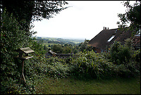 BNPS.co.uk (01202 558833)<br /> Pic: RachelAdams/BNPS<br /> <br /> Pictured - the view from the back garden<br /> <br /> A cottage immortalised in the famous Hovis TV advert featuring a young boy struggling to push his bike up a steep cobbled street is up for sale.<br /> <br /> The bungalow at Gold Hill, Shaftesbury, Dorset, was the home of 'Old Ma Peggotty' in the ad - the last house on the bakery boy's round.<br /> <br /> The 1973 commercial, directed by Ridley Scott, was voted Britain's all-time favourite TV advert in 2006.<br /> <br /> In it the lad is heard to say that delivering bread to the house on top of the hill 't'was like taking bread to the top of the world.'