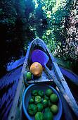 Outrigger Canoe, Kosrae, Micronesia<br />