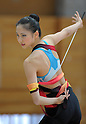 "Airi Hatakeyama, MARCH 23, 2012 - Rhythmic Gymnastics : Japanese Rhythmic Gymnastics Team ""FAIRY JAPAN POLA"" open the practice for press at Japan Sports Institute of Science in Itabashi, Japan. (Photo by Atsushi Tomura /AFLO SPORT) [1035]"