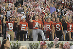 Alabama fans spell out BEARS at Bryant-Denny Stadium in Tuscaloosa, Ala.  on Saturday, October 16, 2010. Alabama won 23-10.