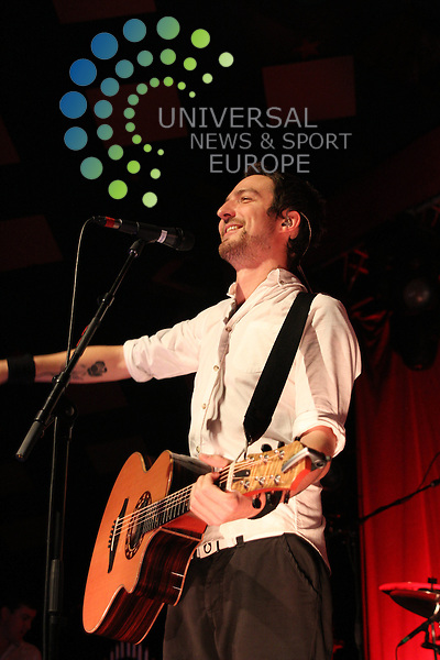 Frank Turner headline gig at Barrowlands in Glasgow on Friday 25 November 2011..Picture: Justin Moir/Universal News And Sport (Europe) 2011..