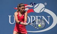 ALEKSANDRA KRUNIC (SRB)<br /> The US Open Tennis Championships 2014 - USTA Billie Jean King National Tennis Centre -  Flushing - New York - USA -   ATP - ITF -WTA  2014  - Grand Slam - USA  30th August 2014. <br /> <br /> &copy; AMN IMAGES