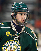 Connor Brickley (Vermont - 23) - The visiting University of Vermont Catamounts tied the Boston University Terriers 3-3 in the opening game of their weekend series at Agganis Arena in Boston, Massachusetts, on Friday, February 25, 2011.