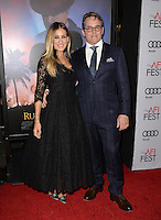 LOS ANGELES, CA. November 10, 2016: Actors Matthew Broderick &amp; wife Sarah Jessica Parker at World Premiere of &quot;Rules Don't Apply&quot;, part of the AFI Fest 2016, at the TCL Chinese Theatre, Hollywood.<br /> Picture: Paul Smith/Featureflash/SilverHub 0208 004 5359/ 07711 972644 Editors@silverhubmedia.com